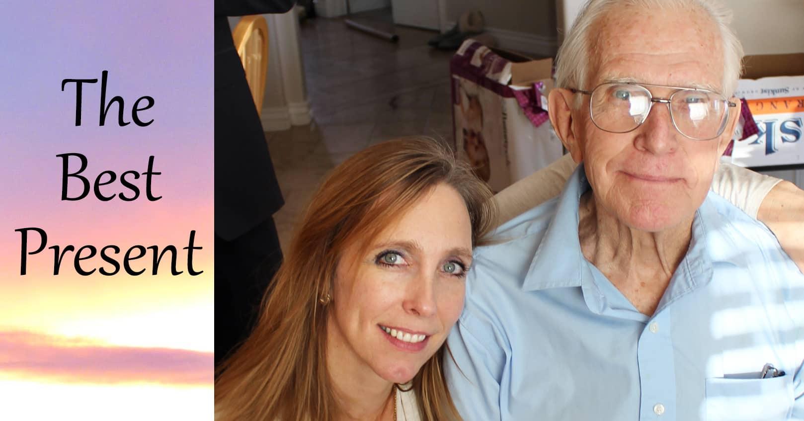 Teyla Rachel Branton and her dad, The Best Christmas Present