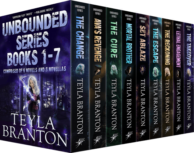 Cover for Unbounded Series Books 1-7