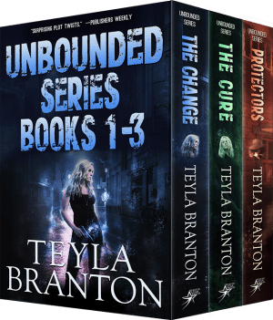 Cover for Unbounded Series Books 1-3