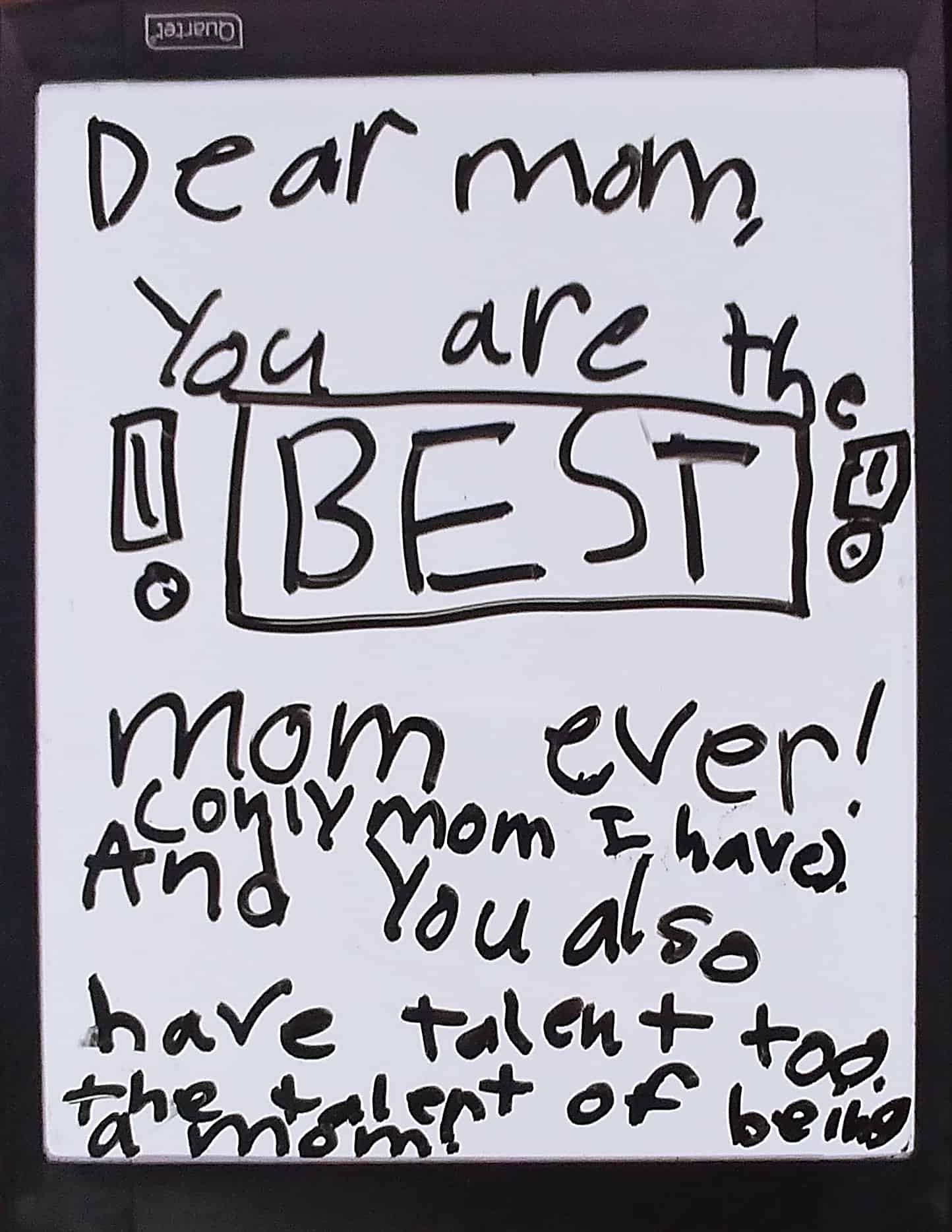 Lisbon's love notes, best mom I ever had