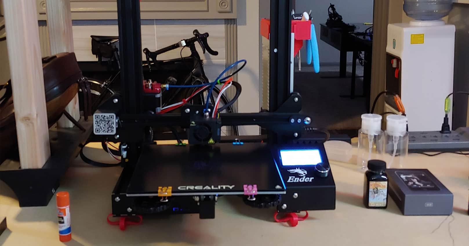 Using a #D printer