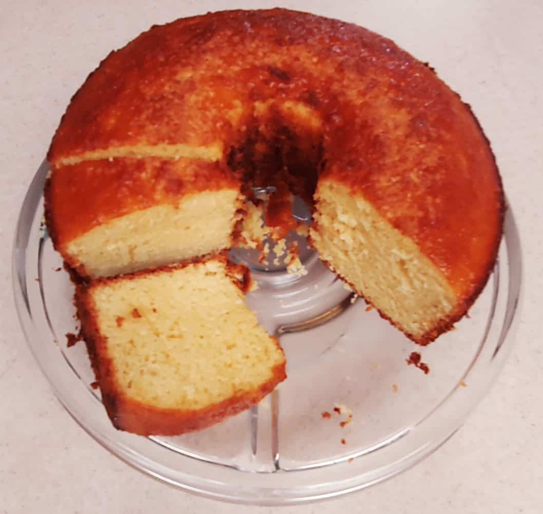 Portuguese Yogurt Cake
